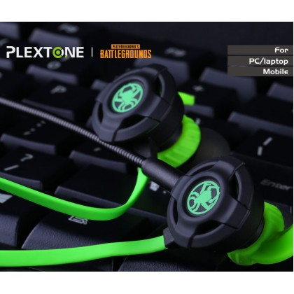 Plextone G30 Gaming Earphones With Mic Phone PC Xbox One PS4