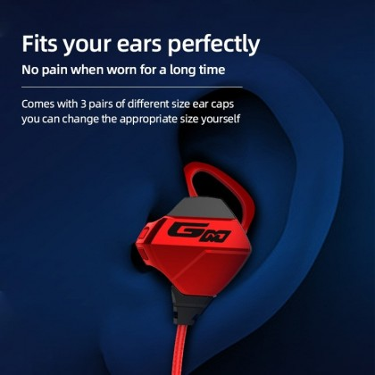 HiFi Stereo Gaming Earphone Gaming Headphones Super Bass Headset for phone and PC with 2 Mic for PUBG CS LEGEND G010