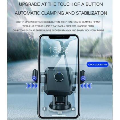 Super Strong Car Phone Holder Silicone Suction Cup Holder Air Outlet Mobile Phone Stand